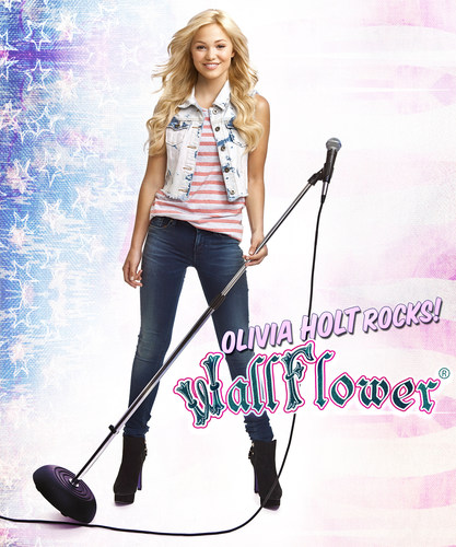 DISNEY'S STARLET OLIVIA HOLT ANNOUNCED AS THE NEW FACE OF WALLFLOWER JEANS  www.wallflowerjeans.com (PRNewsFoto/WallFlower Jeans) (PRNewsFoto/WallFlower Jeans)