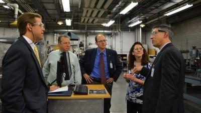 NASA Leadership Visits Southern Research Institute