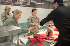 Carando(R) Cares and Big Y(R) Serve National Guard with Holiday Ham Feast