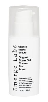 Emerge Labs Stem Cell Acne Cream.  (PRNewsFoto/Emerge Labs)