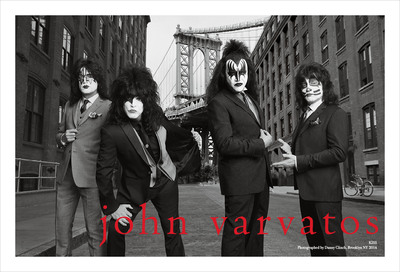 John Varvatos Spring 2014 Campaign Features KISS Fall 2014 Collection Debuts. (PRNewsFoto/John Varvatos) (PRNewsFoto/JOHN VARVATOS)
