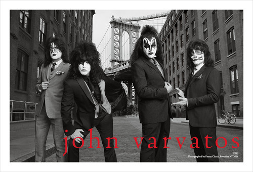 John Varvatos Spring 2014 Campaign Features KISS Fall 2014 Collection Debuts. (PRNewsFoto/John Varvatos)