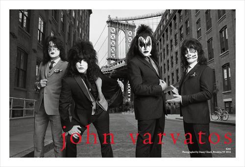 John Varvatos Spring 2014 Campaign Features KISS Fall 2014 Collection Debuts. (PRNewsFoto/John Varvatos) (PRNewsFoto/JOHN VARVATOS)