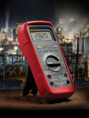 The Fluke 28 II Ex DMM meets intrinsic safety (IS) standards worldwide for safe use inside potentially explosive environments, making it ideal for use in petroleum, chemical and pharmaceutical facilities.  (PRNewsFoto/Fluke Corporation)