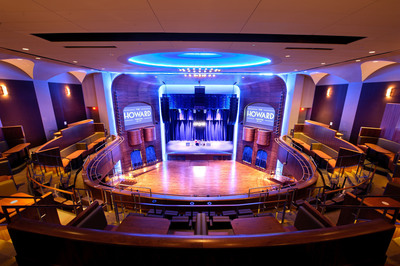 The Howard Theatre reopens April 9 after a $29 million renovation and a 32-year hiatus.  The new iteration of the theatre holds 650 seated, 1100 standing. Photo by Tim Cooper for The Howard Theatre. (PRNewsFoto/The Howard Theatre, Tim Cooper, for Howard Theatre)