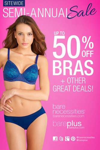 Bare Necessities Announces Semi-Annual Sitewide Sale