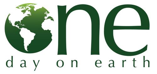 One Day on Earth Logo (PRNewsFoto/One Day on Earth)