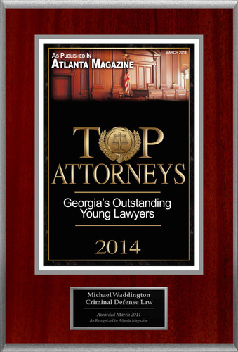 Attorney Michael Waddington Selected for List of Top Rated Lawyers in Georgia.  (PRNewsFoto/American Registry)