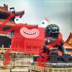 Monsters of New York's First Appearance in China at the Forbidden City