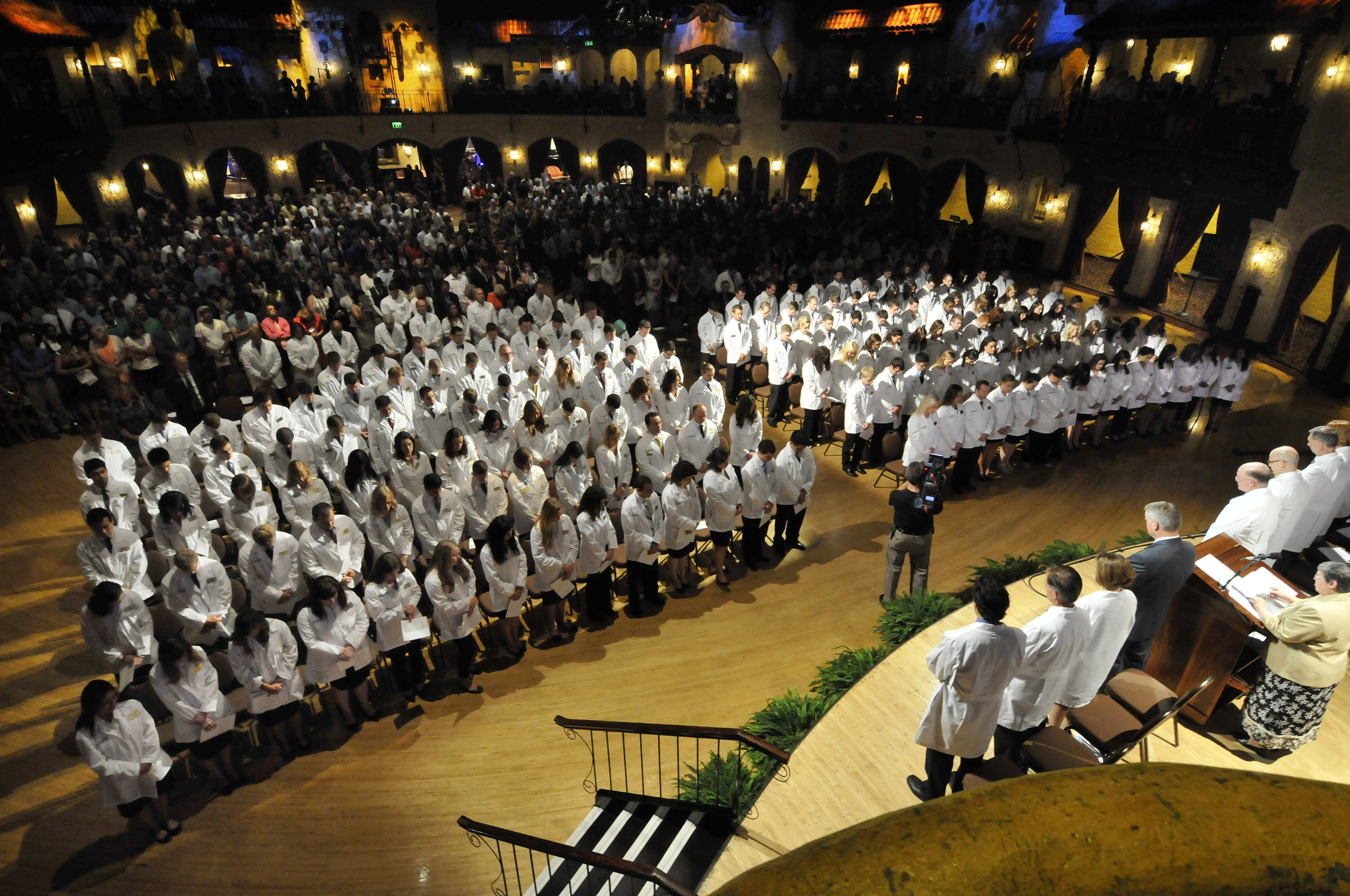 Marian University College of Osteopathic Medicine welcomes new students