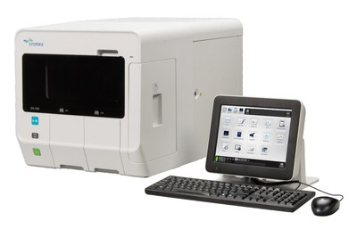 The Sysmex XN-L Series of hematology analyzers. (XN-550 shown here).