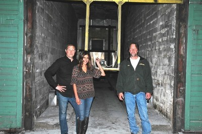 The Stomping Ground owners Jason and Janu Goelz and Tim Slater