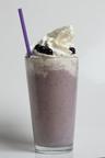 """Got Milk? Kid-Friendly After-School Snack: Blueberry & Banana Cream Milkshake / Batido """"Toma Leche"""" de arandano y banana: snack ideal para los ninos despues de la escuela.  (PRNewsFoto/California Milk Processor Board)"""