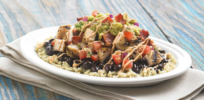 Daphne's introduces the Cali-Greek Bowl, a delicious entree that takes its inspiration from the brand's Greek heritage and adds a fresh California flair. (PRNewsFoto/Daphne's California Greek) (PRNewsFoto/DAPHNE'S CALIFORNIA GREEK)