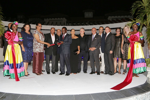 From Left to Right - Hon. Alexandra Otway-Noel - Minister of Tourism, Civil Aviation & Culture, Her Excellency ...
