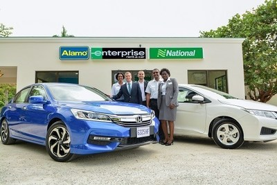 Enterprise Rent-A-Car, National Car Rental and Alamo Rent A Car are now available at the Sangster International Airport as well as at a neighborhood location on Queens Drive, Montego Bay.