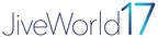 Jive Announces JiveWorld17, the Premier Industry Conference for Powering Enterprise Collaboration Across Employees, Customers and Partners
