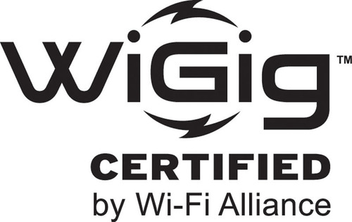 Wi-Fi Alliance(R) reveals new WiGig CERTIFIED(TM) logo and announces industry collaborations to advance 60 GHz technology.  (PRNewsFoto/Wi-Fi Alliance)