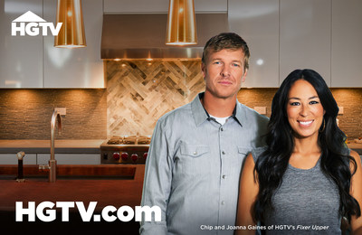 The All-New HGTV.com. HGTV's SuperFan Experience. More Inspiration. More HGTV. (PRNewsFoto/HGTV)