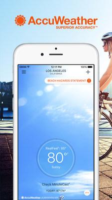 AccuWeather iOS 9 App