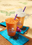 The Coffee Bean & Tea Leaf's Thai Iced Tea Latte & Ice Blended drink