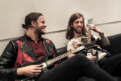 Guitar Hero(R) Live Hits the Road with Imagine Dragons: Smoke + Mirrors European Tour (PRNewsFoto/Activision Publishing) (PRNewsFoto/Activision Publishing)