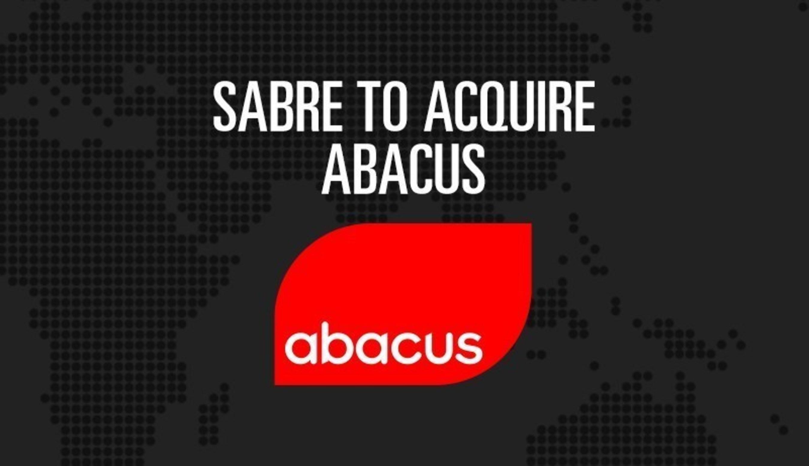 Sabre rachète Abacus International