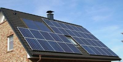 Solar PV house