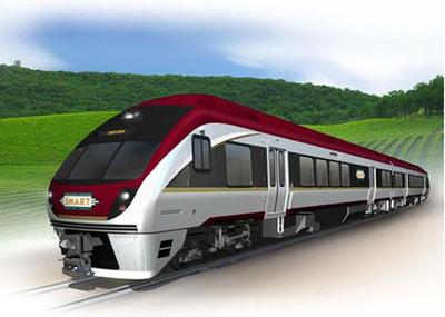 Diesel Multiple Units (DMU) for Sonoma Marin Area Rail Transit.  (PRNewsFoto/Sumitomo Corporation of America)