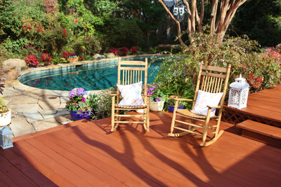 Enter the Thompson's WaterSeal Deck of Your Dreams Sweepstakes to start creating your own backyard oasis. (PRNewsFoto/Thompson's WaterSeal)