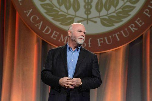 Feb '14 Congress Speaker Dr. Craig Venter Addresses Scholars (PRNewsFoto/NAFPMS)