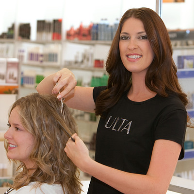 The Salon at ULTA Beauty's first, all day Salon Cut-a-Thon, will be held Sunday, October 16, with 100% of proceeds being donated to The Breast Cancer Research Foundation.  (PRNewsFoto/ULTA)