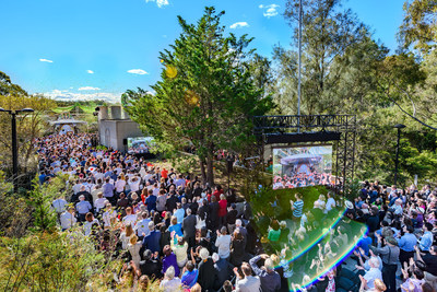 Thousands of Scientologists and their guests converged in Sydney, Australia on Sunday, September 4, for the unveiling of the stunning new spiritual home for the Church of Scientology. The dedication signals exponential expansion of advanced spiritual progress for parishioners across the Asia Pacific region.