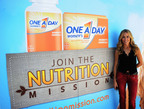 Sheryl Crow and One A Day(R) Women's Brand on a Nutrition Mission.  (PRNewsFoto/Bayer Healthcare)