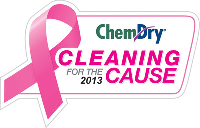 Cleaning for the Cause.  (PRNewsFoto/Chem-Dry)