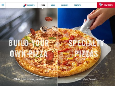 Domino's today launches its most beautiful ordering app yet, for iPad.