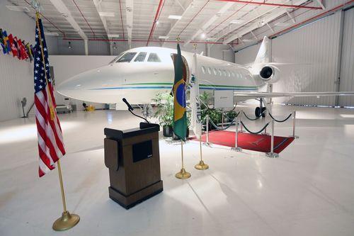 First Falcon 2000S delivered to Brazil (PRNewsFoto/DASSAULT AVIATION)