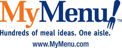 MyMenu logo. (PRNewsFoto/MyMenu)