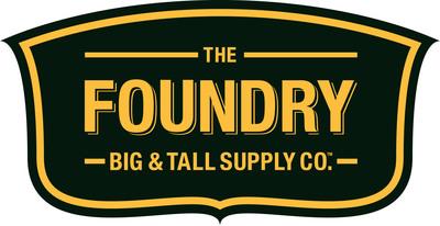 The Foundry Big & Tall Supply Co.(TM).  (PRNewsFoto/The Foundry Big & Tall Supply Co.(TM))