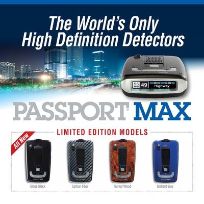Escort Passport MAX Limited Edition (PRNewsFoto/ESCORT, Inc.)