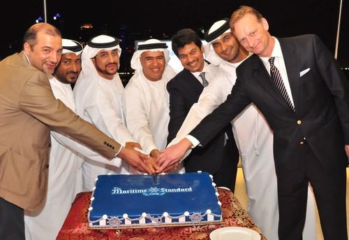 From left to right: Ali Shehab Ahmed, Deputy CEO, KOTC; Abdulla Salem Al Muharrami, CEO advisor, Abu Dhabi ...