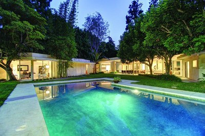 Aaron Kirman, President of Aaroe Estates, sells $15M A. Quincy Jones home (PRNewsFoto/John Aaroe Group)