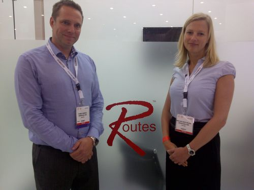 Thomas Ramdahl, Director Network Planning for Norwegian and Madeleine Rieber Waldjac, Senior Route Manager for Norwegian