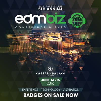 Insomniac Announces Dates, New Location and Expanded Programming for 5th Annual EDMbiz Conference & Expo