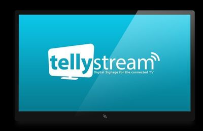 Tellystream - Digital Signage for the connected TV (PRNewsFoto/Tellystream)
