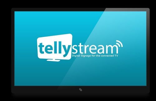 Tellystream - Digital Signage for the connected TV (PRNewsFoto/Tellystream)