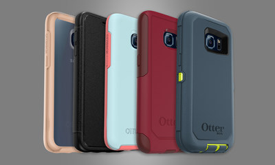 OtterBox cases for GALAXY S7 are available now for every personality type. *Cases shown on GALAXY S6