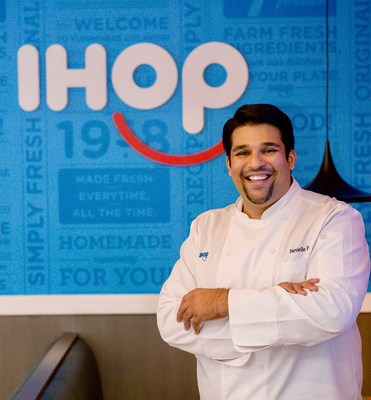 Nevielle Panthaky IHOP's new Vice President, Culinary
