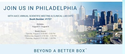 Visit Sysmex America, Inc. in Booth 1727 at AACC