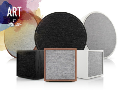 ART by Tivoli Audio includes the ORB and CUBE Wi-Fi and Bluetooth enabled speakers designed to elevate your home decor.